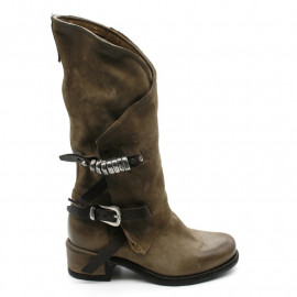 Bottes Femme AS98 545323 Tabac