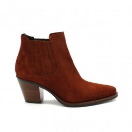 Boots À Talon Femme Muratti Reseda