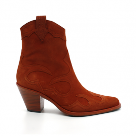 Boots À Talon Femme Free Lance Jane 7  West Zip Flame