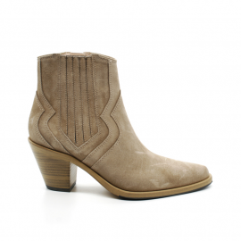 Boots À Talon Femme Free Lance Jane 7 WT Chelsea Zip Boot