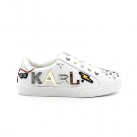Tennis Femme Karl Lagerfeld KL60113 Skool Karl The Robot Lo Lace
