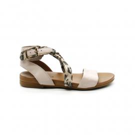 Sandales Femme Coco Et Abricot V1729 Mecleuves