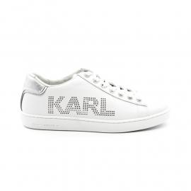 Sneakers Femme Karl Lagerfeld Kuspole II Punk Logo KL61220