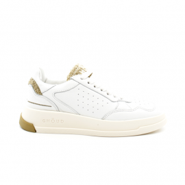 Baskets Femme Ghoud Tweener Low Blanc Gold