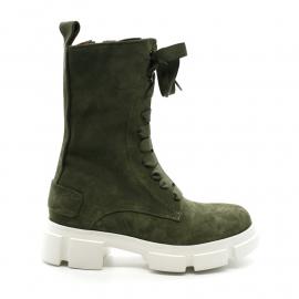 Boots Lacets Femme Rose Métal H06701 Francueil Savana