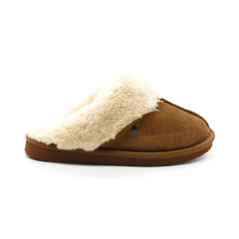 Chaussons Mules Femme Isotoner 97282