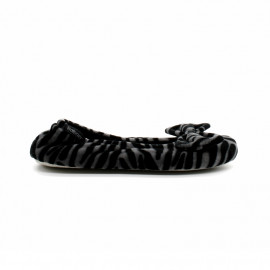 Chaussons Ballerine Grand Noeud Femme Isotoner